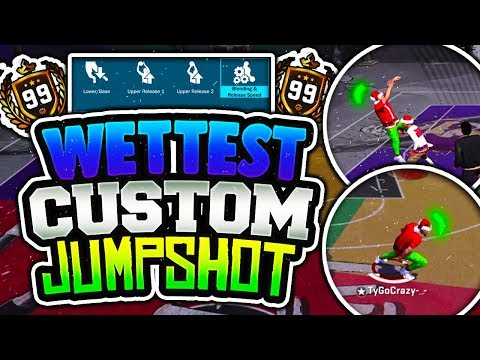 NEW WET CUSTOM JUMPSHOT IN NBA 2K18 EXPOSED!😱 BEST JUMPSHOT ANY ARCHETYPE! STAGE AND PLAYGROUND!