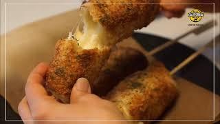 캘리포니아 치즈로 만드는 치즈트위스트핫도그 (캘리포니아…