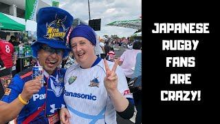 JAPANESE RUGBY FANS ARE CRAZY!