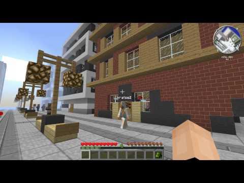 Сериал Minecraft! Приключения Брата и Сестры! 2 Серия-Прогулка по городу и паркур