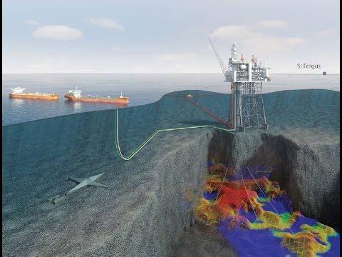 Hebat !! Seperti inilah pembuatan Tambang Minyak ditengah Laut (Oil Rig)