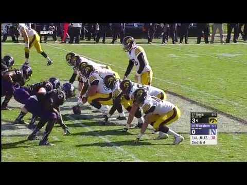Iowa vs Northwestern Full Game 17/10/2015 NCAA Football Week 7