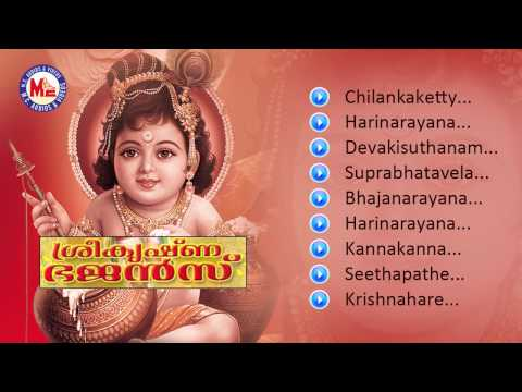 SREE KRISHNA BHAJANS | Hindu Devotional Album Malayalam | Sree Krishna Audio Jukebox