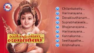SREE KRISHNA BHAJANS | Hindu Devotional Album Malayalam | Sree Krishna Audio Jukebox