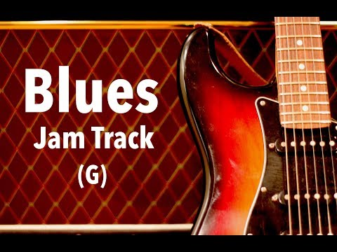 Uplifting Country Blues Backing Track (G)