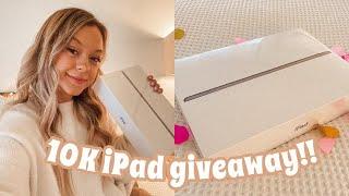 IM GIVING AWAY AN IPAD!! | 10K Subscriber Giveaway