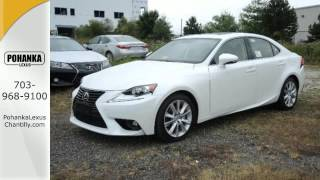 New 2015 Lexus IS 250 Chantilly VA Washington-DC, MD #ISF516511 - SOLD