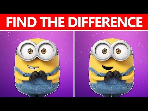 NO ONE CAN FIND THE DIFFERENCE | 100% FAIL | MINIONS MOVIE PUZZLE From The Fail Weblog thumbnail