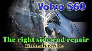 Volvo S60. Body repair. Ремонт кузова.
