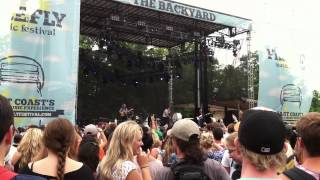 """Imagine Dragons - """"On Top Of The World"""" - Firefly Festival 2012"""