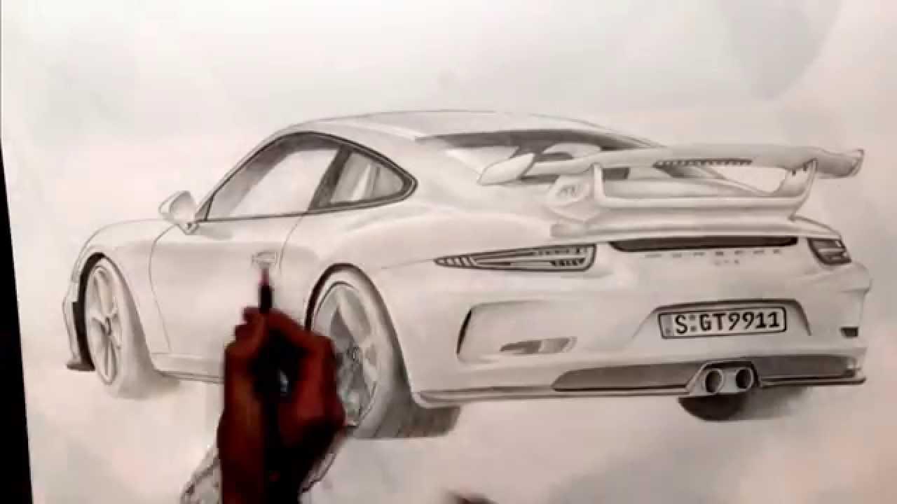 Porsche Zeichnen
