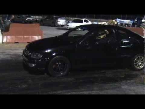 Nissan B14 200SX VQ35DE ALL MOTOR 11:44 @ 119MPH 1/4 mile