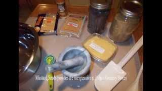 Making Easy Homemade Mustard