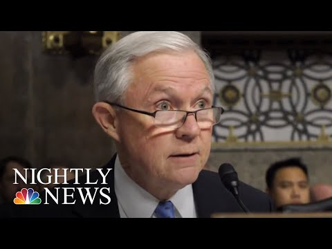 Attorney General Jeff Sessions Fires Back After President Donald Trump Criticism   NBC Nightly News