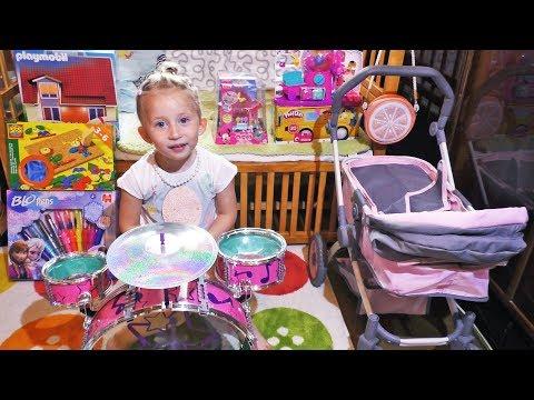 POKLONI Sonji za 4. Rodjendan! Kucica Playmobil, Shopkins Set, Plastelin Play Doh Birthday Presents