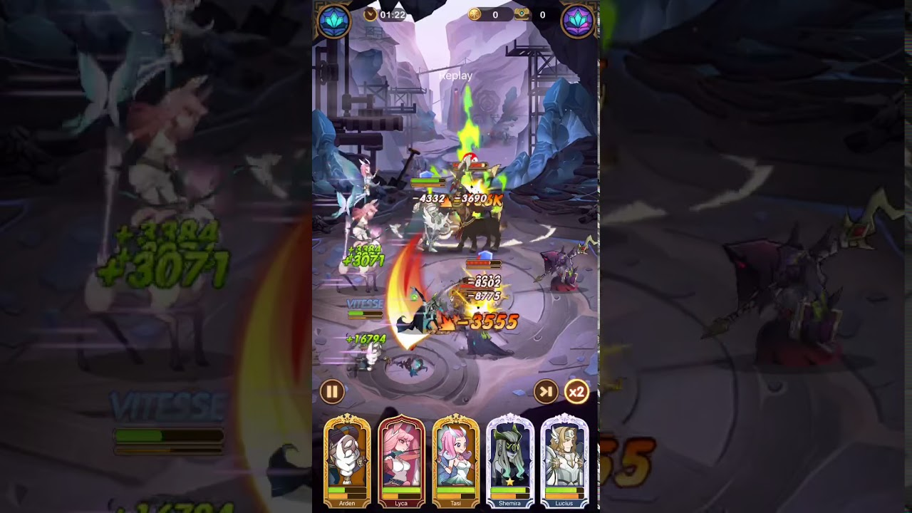 AFK Arena stage 26-46 gameplay - YouTube