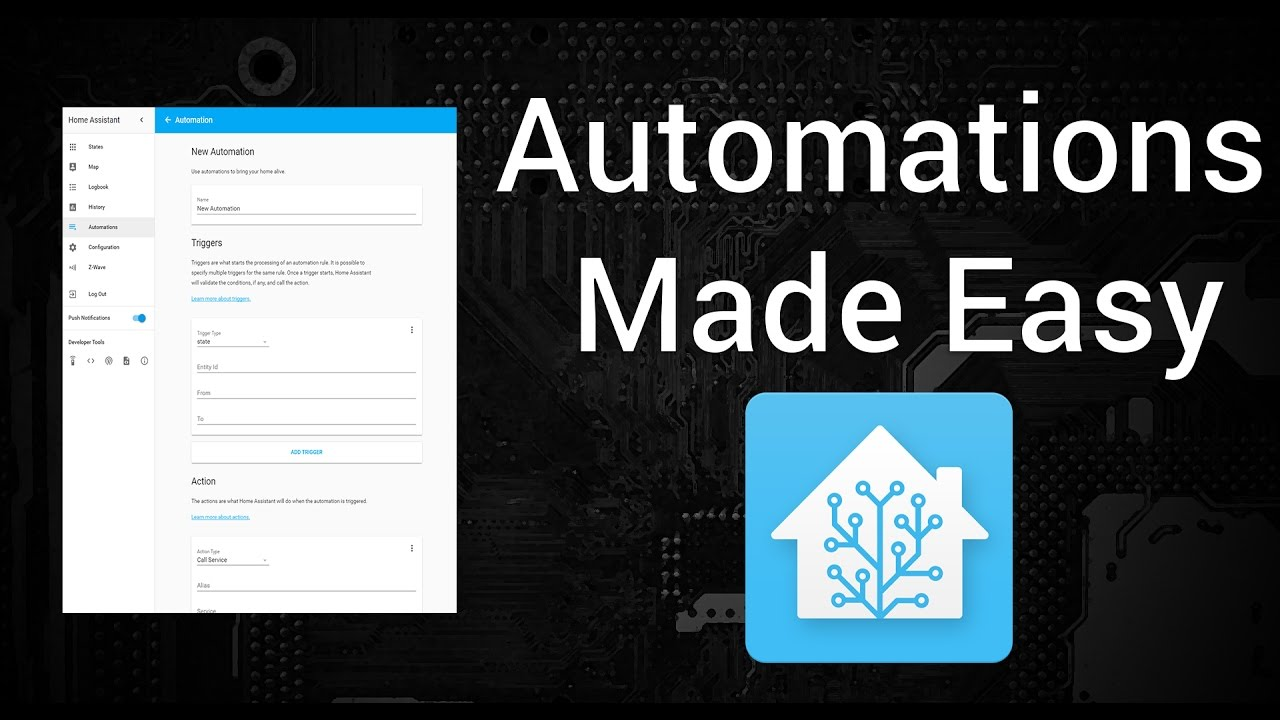 Home Assistant 0 45: Automation editor, Z-Wave panel, OCR - Home