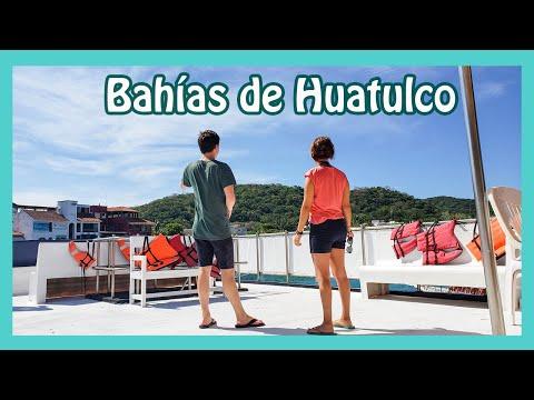 6 BAHÍAS DE HUATULCO que sólo puedes acceder POR BARCO 🔴    Vimos mil peces