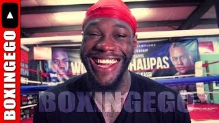 HEARN DESPERATELY TRIES TO GET DEONTAY WILDER TO FIGHT JOSHUA IN UK _WILLING TO PAY SAME DAY