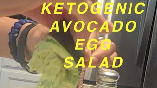 Ketogenic Avocado Egg Salad