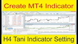 Create H4 Forex Indicator In Just 2 Mints   Tani Forex special Mid term Indicator Tutorial in Urdu