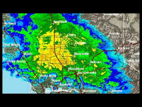 What Is Causing This Radar Anomaly At Oroville Dam In California