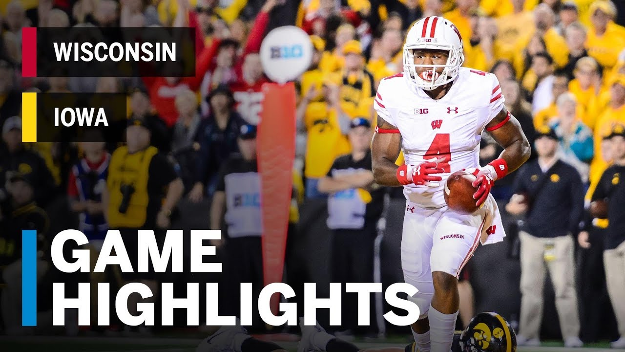 Highlights Wisconsin Badgers At Iowa Hawkeyes Big Ten Football Youtube No one fights such a desperate battle. highlights wisconsin badgers at iowa hawkeyes big ten football