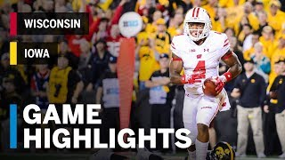 Highlights: Wisconsin Badgers at Iowa Hawkeyes | Big Ten Football