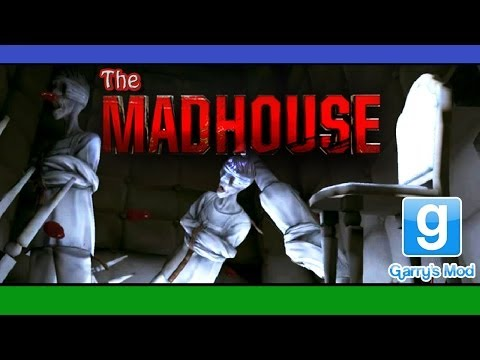 The Madhouse w/ Joost Kivits | WHERE/WHO/WHAT AM I?! |  Gmod Horror Map