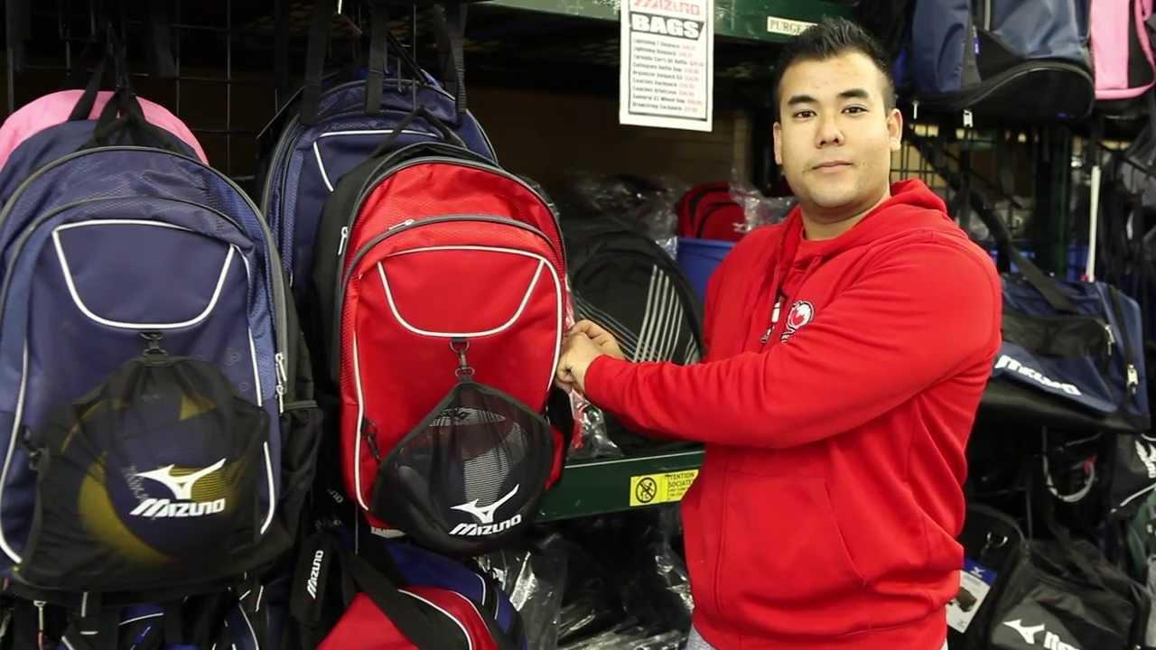 773777d50e Neil's Staff Pick - Mizuno Lightning 2 Daypack - YouTube