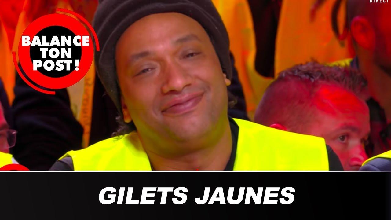 Doc Gynéco enfile un gilet jaune en direct !