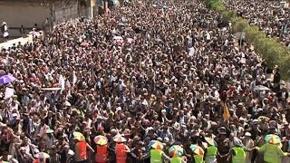 Yemen Shiite rebels rally for government ouster