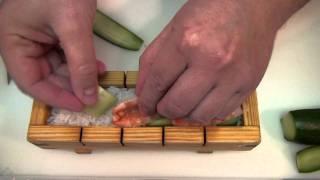 Хако-суши (оси-суши) / Хако-суші (осі-суші)