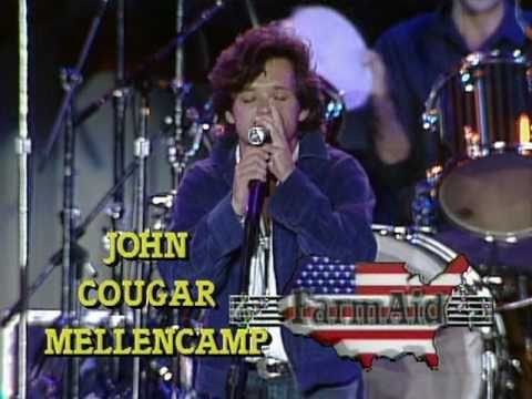 John Mellencamp - Pink Houses (Live at Farm Aid 1985)