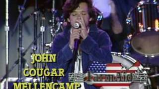 Download John Mellencamp - Pink Houses (Live at Farm Aid 1985) MP3 song and Music Video