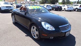 2002 LEXUS SC 430 Northern California, Redding, Sacramento, Red Bluff, Chico, CA 20002136