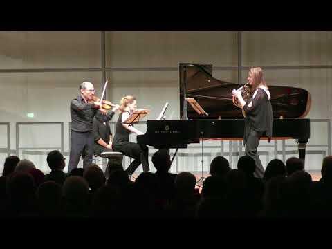 Neunecker, Picard, Imorde - Brahms Horntrio Op. 40 (2. Scherzo. Allegro - Molto meno)