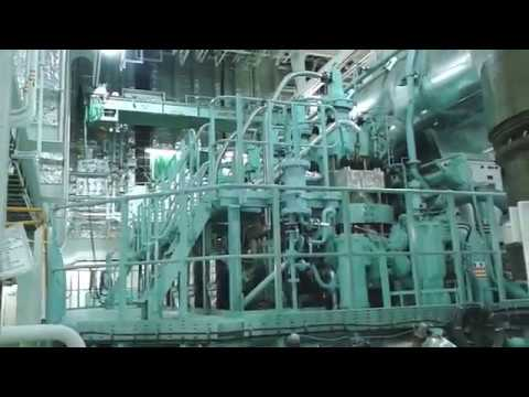 Ro-ro / Container ship engine room