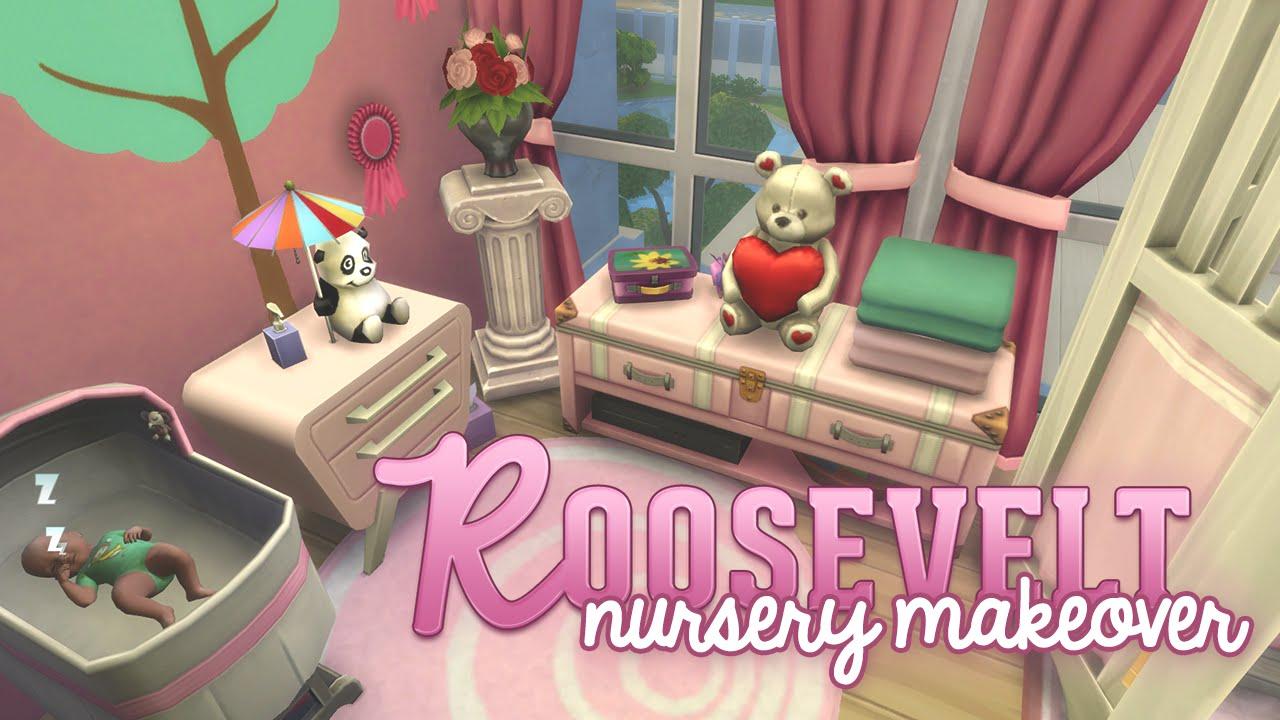 The Sims 4: Renovate | Roosevelt Nursery - YouTube