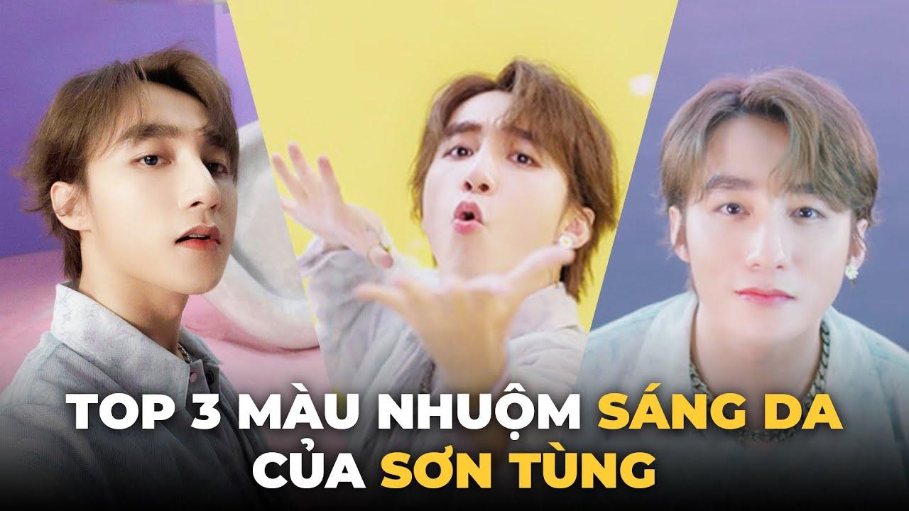 """Top 3 màu nhuộm sáng da như Sơn Tùng trong MV """" Có Chắc Yêu Là Đây"""""""