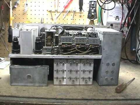 BC-342 Radio Receiver Capacitor Replacement Tips Part 1