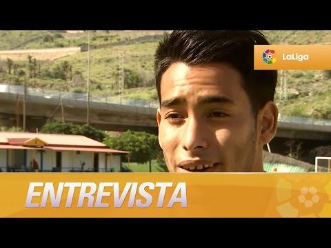 Entrevista a Sergio Araujo, jugador de UD Las Palmas