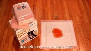 Ultra Puppy Pads From Mednet Direct! ®  The Best Pads Just Got Better!