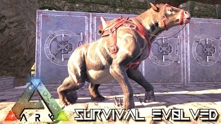ark survival evolved new chalicotherium taming gameplay new update v248