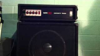 Sunn Concert Bass Amp Thumbnail