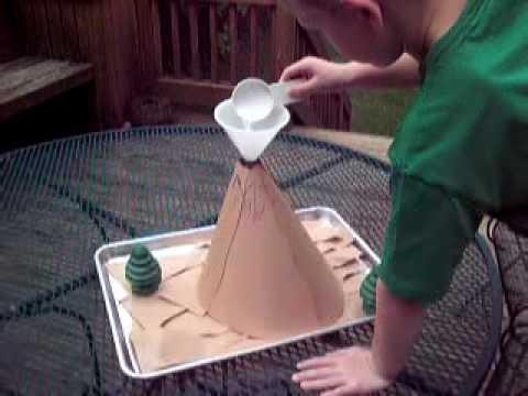 Andrew Kraus Kindergarten Science Project Volcano Mt