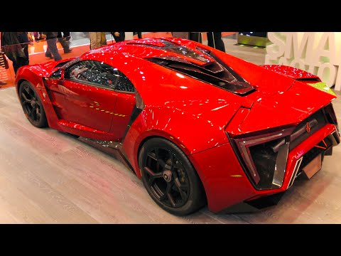 Luxury Red US$3 4 Million Lykan Hypersport 770HP Close Look (4K) - Supercars DD