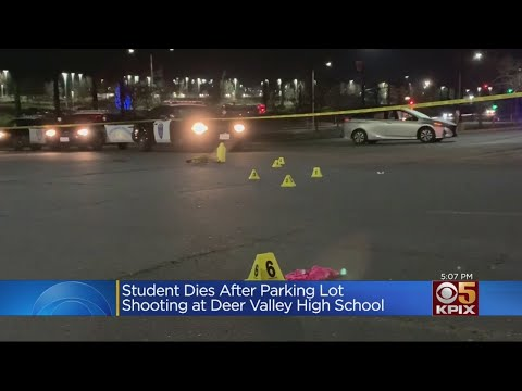 Antioch Teen Dies Of Wounds Suffered In Deer Valley High Shooting