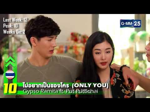 NOW20 THAI-INTERNATIONAL MUSIC CHART: Round 1 January 2018