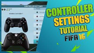 FIFA 16 BEST CUSTOM CONTROLLER SETTINGS & BEST GAME ASSISTANCE SETTINGS / Best Controls in FIFA 16